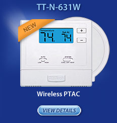 Wireless - PTAC Thermostat TT-N-631W